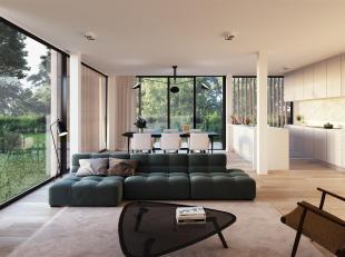 Dit luxueuze 2 slaapkamer appartement beschikt over een ruime bewoonbare oppervlakte van 128 m². Bovendien kan u genieten van raamhoge partijen d