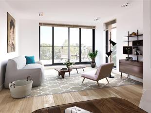 Dit lichte 2 slaapkamer nieuwbouwappartement op de 4e verdieping heeft een bewoonbare oppervlakte van 89.5 m² en een ruim terras van 14.5 m²