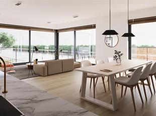 Dit lichte 3 slaapkamerappartement op de eerste verdieping heeft een bewoonbare oppervlakte van maar liefst 136 m² en een ruim terras van 33 m&su