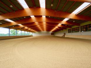 Deze professionele hippische accommodatie is gelegen te Geel (Antwerpen), slechts op 40 minuten van het Azelhof en op 50 minuten van Sentower, dus ide