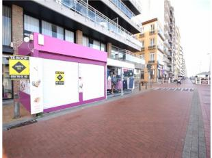 Op Dijk Instapklaar handelsgelijkvloers op TOPLIGGING te Blankenberge!INDELING:Gelijkvloers: RUIME winkel met bijhorende werkplaats - ingerichte kitch