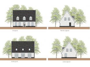 Nieuw te bouwen stijlvol villa project= geselecteerde bouwgrond met een BEN E30 nieuwbouw, die nog volledig volgens uw wensen kan aangepast worden. Ui