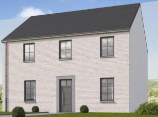 Mooi rechthoekig perceel met zuid west oriëntatie. Nieuw te bouwen villa met 3 slaapkamers volledig afgewerkt met hoogwaardige materrialen en de