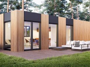 Een volledige oplossing op maat, te gebruiken als kantoor, serviceflat, conciergerie, tijdelijk bijgebouw, poolhouse in uw tuin of op uw bouwgrond. Ge