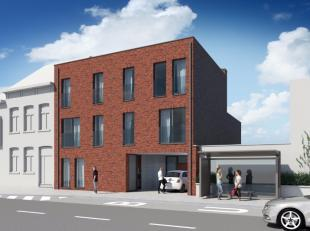 Wij bouwen binnenkort een mooi en modern gebouw in het centrum van Ekeren aan de Kloosterstraat. Deze straat is recentelijk heraangelegd en geeft een