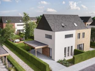 Exclusieve verkoop van een kleinschalig project  van 18 klassevolle BEN-woningen met een energiepeil van 30  ! <br /> <br /> Wie eerst is, kan de bouw