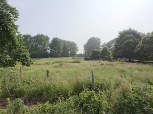 Terrain à batir à vendre avec une vue imprenable sur les prairies derrières !<br /> <br /> Le terrain est libre de construction e