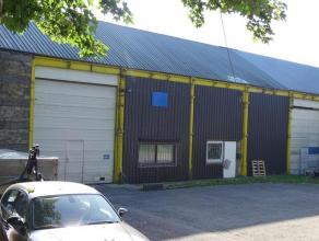 OPTION OPTION PEntrepôt situé en plein centre d'Arlon d'une superficie de 11 ares 10 ca. Divisé en 2 parties. La première d