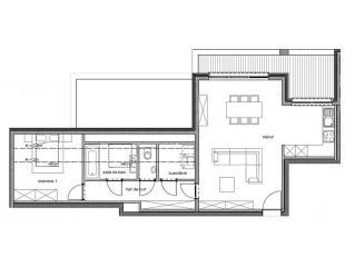 """!!! OFFRE PROMOTIONNELLE !!!  """"Résidence Goffinet""""Nous vous proposons cet appartement 1 Chambre au 2° étage avec terrasse dans une n"""