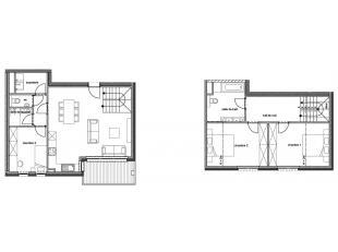 """!!! OFFRE PROMOTIONNELLE !!!  """"Résidence Goffinet""""Nous vous proposons ce duplex 3 Chambres au 3° étage avec terrasse dans une nouvel"""
