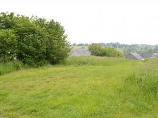 Un des derniers terrain à bâtir situé hors lotissement dans le village de Falmignoul. Ancré dans une impasse en bordure de