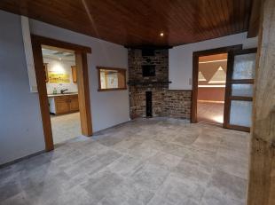 Nous avons le plaisir de vous présenter cette maison située au cur de Behême, à 8 km d'Habay ,5 km de Léglise (acc&e