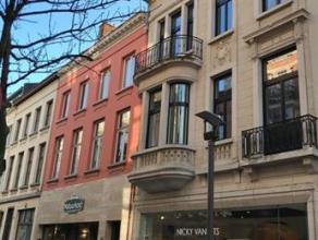 Prachtig authentiek gerenoveerd appartement in de mooiste straat van Antwerpen: Hopland/Schuttershofstraat. Gelegen middenin het centrum, dicht bij op