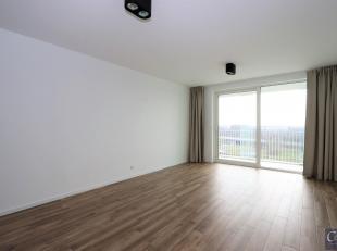 Prachtig en lichtrijk twee slaapkamer appartement met ruim zonne-terras op de hoogste verdieping<br /> Aparte inkomhal. Ruime, lichtrijke woon- en lee
