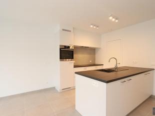 Stijlvol afgewerkt nieuwbouwappartement met 2 slaapkamers in de aangename wijk Pulhof. Inkomhal, ruime en lichte woonkamer (ca 30m²) met kamerhog
