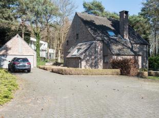 Charmante alleenstaande woning op een perceel van meer dan 28are in een groeneresidentiële buurt in Bolderberg.<br /> Deze woning is als volgt in