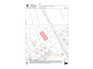 """BOUWGROND TE KASTERLEE.<br /> Een perceel bouwgrond lot 101, met een totale oppervlakte van 608 m2, is rustig gelegen in de verkaveling """"Ter Hulst"""" te"""