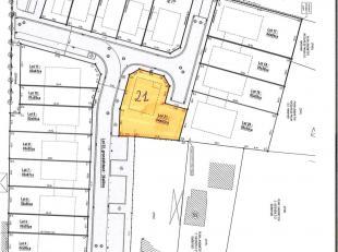 CENTRAAL GELEGEN PERCEEL BOUWGROND VOOR OPEN BEBOUWING (lot 21 van de verkaveling) te Evergem, Ertvelde, aan de nieuw ontworpen straat 'Kurkstraat' (n