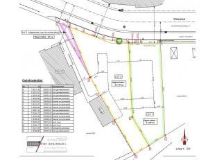 LOT 1  VOOR HALF-OPEN BEBOUWING -IDEGEM, DRIESSTRAAT<br /> LOT 1:  bouwgrond voor Half-Open bebouwing gelegen te Idegem, Driesstraat: lot 1:  75.000