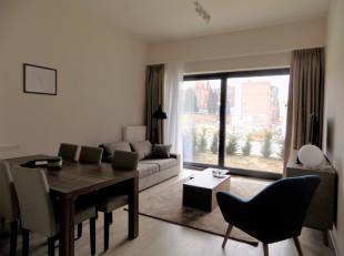 Dans un immeuble neuf, superbe APPARTEMENT meublé avec 1 chambre.<br /> Cet appartement très limineux vous offre un magnifique living av