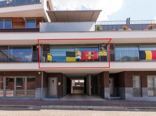 APPARTEMENT<br /> In een appartementsgebouw, het appartement op de eerste verdieping genummerd App. 1.7, links, de garagebox BOX2 in de kelderverdiepi