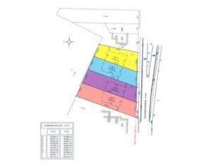 2 PERCELEN BOUWGROND VOOR HOB<br /> LOT EEN: Een perceel bouwgrond, met een oppervlakte volgens opmetingsplan van drie aren éénennegenti