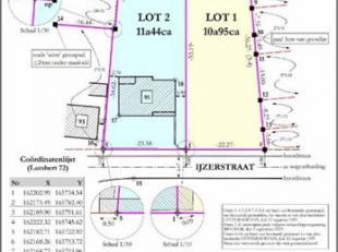RUSTIG GELEGEN BOUWGROND<br /> Prachtig perceel bouwgrond voor open bebouwing in landelijke omgeving met een straatbreedte van 22,27m en +/- 55 m diep
