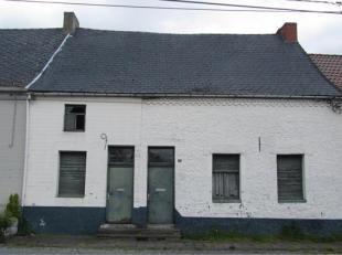 Deux maisons d'habitation à total. rénover. Comp.: 8 pièces. RC.: 391,00 euro, cont.: 14 a 10 ca. Faire offre à part. de 6