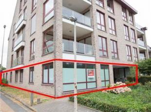 BUREELRUIMTE CASCO<br /> Ruime bureelruimten gelegen op het gelijkvloers van Blok A, genummerd A01, samengesteld uit een grote bureauruimte die ingede