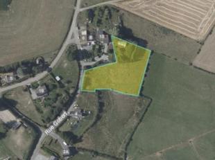 Beau terrain en zone d'habitat rural et surplus agricole<br /> Beau terrain situé en zone d'habitat à caractère rural sur 50 m de