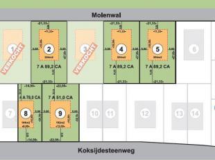 5 RUIME PERCELEN BOUWGROND<br /> (halfopen en open bebouwing) dichtbij Oostduinkerke-Dorp<br /> Geen bouwverplichting.<br /> Vraagprijs: van 165.000 e