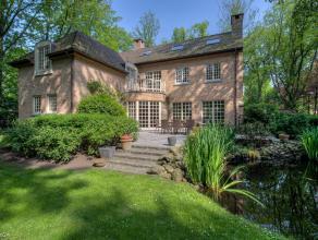 Sfeervolle en recente cottagevilla op ca. 2.155 m2, rustig en residentieel gelegen te Kapellenbos.