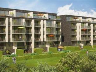 """In de residentie """" Wings"""" in """"The Loop"""" van Gent (Sint-Denijs-Westrem) bieden wij u dit hedendaags afgewerkt nieuwbouwappartement met 2 slaapkamers. G"""