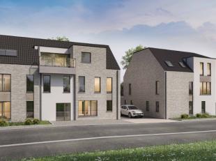 Residentie 'Haspra' wordt ingedeeld in 2 woonblokken die van elkaar gescheiden zijn door de inrit naar de private garages en staanplaatsen. Apptn 0.1