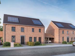 Deze ruime BEN- woning met carport en tuin wordt gebouwd op een perceel van +/- 286 m². De woning bestaat uit een gelijkvloers, verdieping en een