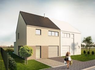 In de Pastorijstraat te Linter (Wommersom) biedt Groep Huyzentruyt deze halfopen nieuwbouwwoning te koop aan. Architectuur en stijl reeds bepaald. Gel