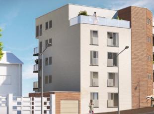 Groep Huyzentruyt construit actuellement un nouvel immeuble dappartements au coin de la rue du Molenblok et de la rue de Hembeek à Neder-Over-H