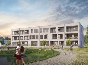 """De 12 nieuwe appartementen van Kuurne  Seizoenswijk bevinden zich in appartementsblok  """"Residentie Salie"""" (lot 10A). De bewoonbare oppervlakten vari&e"""