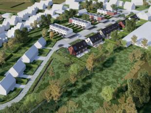 In een nieuw woonproject van 33 loten hebben wij één lot voor open bebouwing te koop. De woning werd voorgecreeërd maar kan naar ei