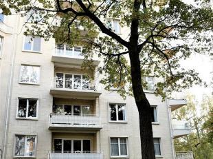 Super ligging aan het park Den Brandt en het Middelheimpark,  Het appartement heeft een bewoonbare oppervlakte van 80 m² en omvat : inkomhal met