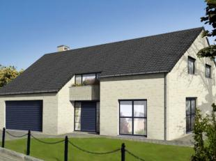 Projet de villa 4 façades basse énergie exposée nord et 100% traditionnelle K 30 ( triple vitrage,14 cm disolation dans l