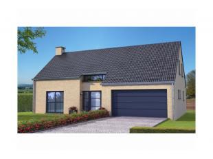 Projet de villa 4 façades basse énergie exposée ouest et 100% traditionnelle K 30 (triple vitrage,14 cm disolation dans les murs,