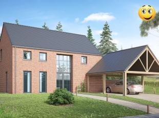Projet de villa basse énergie 100% traditionnelle k30( triple vitrage, 14 cm d'isolation dans les murs, entre 22 et 44 cm d'isolation en toitur