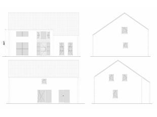 Villa basse énergie, projet 100% traditionnel. Performances énergétiques exceptionnelles K30 Triple vitrage  Isolation des murs 1