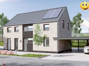 Projet de villa 4 façades basse énergie exposée sud-est et 100% traditionnelle K 30 ( triple vitrage,14 cm disolation dan