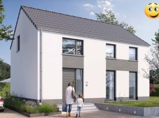 """Mooie alleenstaande energiezuinige woning met 3 slaapkamers en dressing. Nieuwbouwproject """"Villa Audace"""". Energiezuinige woning op 1205 m². Super"""