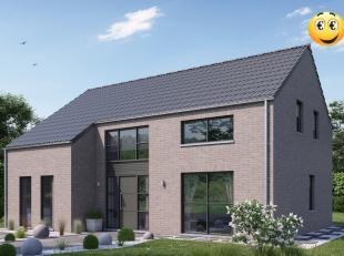 Projet de villa basse énergie 100% traditionnelle k30 (triple vitrage,14 cm d'isolation dans les murs,entre 22 et 44 cm d'isolation en toiture,