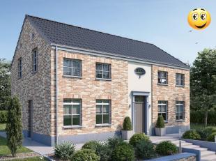 Projet de villa cottage basse énergie 100% traditionnelle k30( triple vitrage, 14 cm d'isolation dans les murs, entre 22 et 44 cm d'isolation e