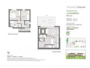 Dans une résidence de 5 unités, située dans une rue calme et en retrait de la route , splendide appartement duplex de 97 m²