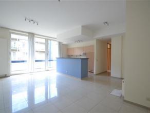 Arlon, bel appartement de 90 m² composé comme suit: hall d'entrée, vaste séjour avec belle terrasse en bois exotique, cuisin